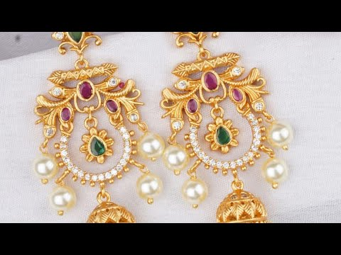||-one-gram-gold-ear-ring-collection||