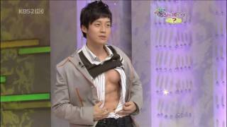 Comedian Heo Kyeong Hwan Shows Off Sexy Abs on Star Golden Bell
