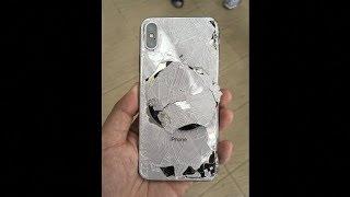 Un enfant a fait tomber son Iphone X...