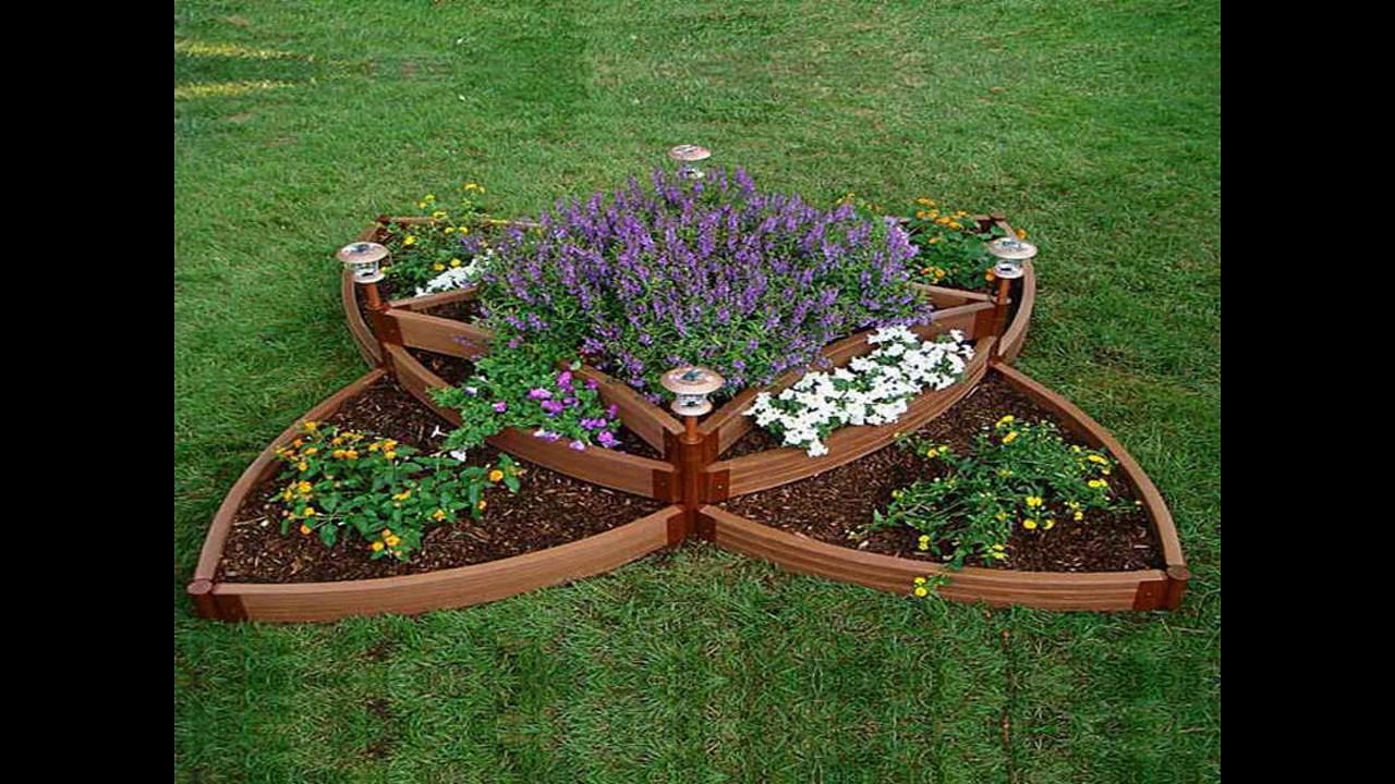 Ideas y dise os de jard n de flores youtube - Disenos de jardin ...