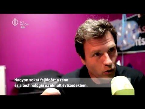 Hernan Cattaneo - entrevista en la televisión húngara. Video lejátszó PetőfiLIVE , 2016. április 8.