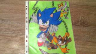 UPDATE! My new Sonic drawings!