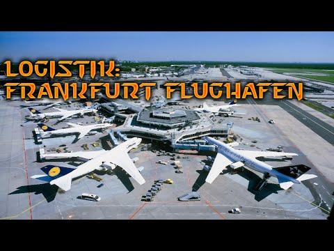 Logistik in Frankfurt Flughafen - Wie es Gebaut ist? (HD Doku)