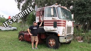 Download I Bought A Cab Over 2 Stroke Diesel Semi Truck!! Mp3 and Videos