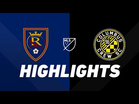 Real Salt Lake vs. Columbus Crew SC | HIGHLIGHTS - July 4, 2019