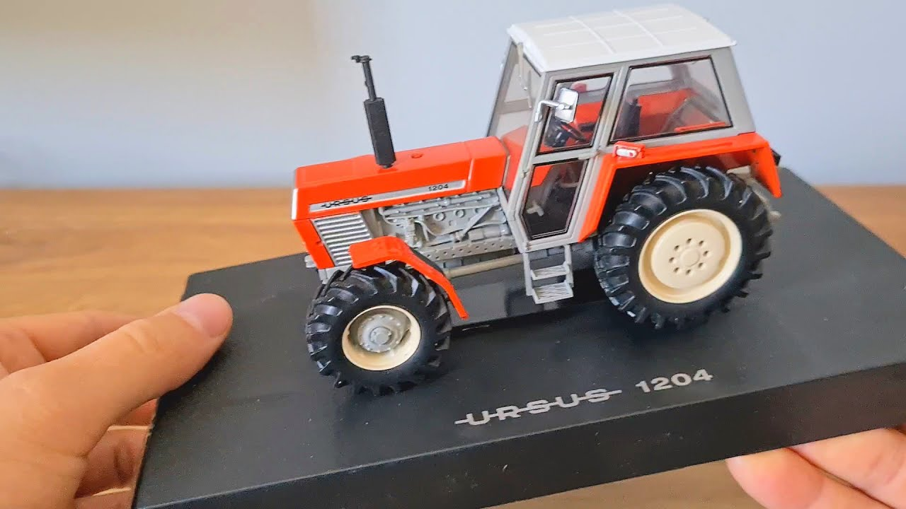 Tractor URSUS 1204 - tractor model and farm simulation in the lead role only Ursus | Traktory