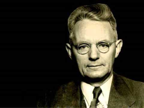 Dr. Cornelius Van Til - The Christian View of Education and Culture