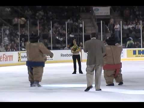 Sumo Wrestling At Center Ice