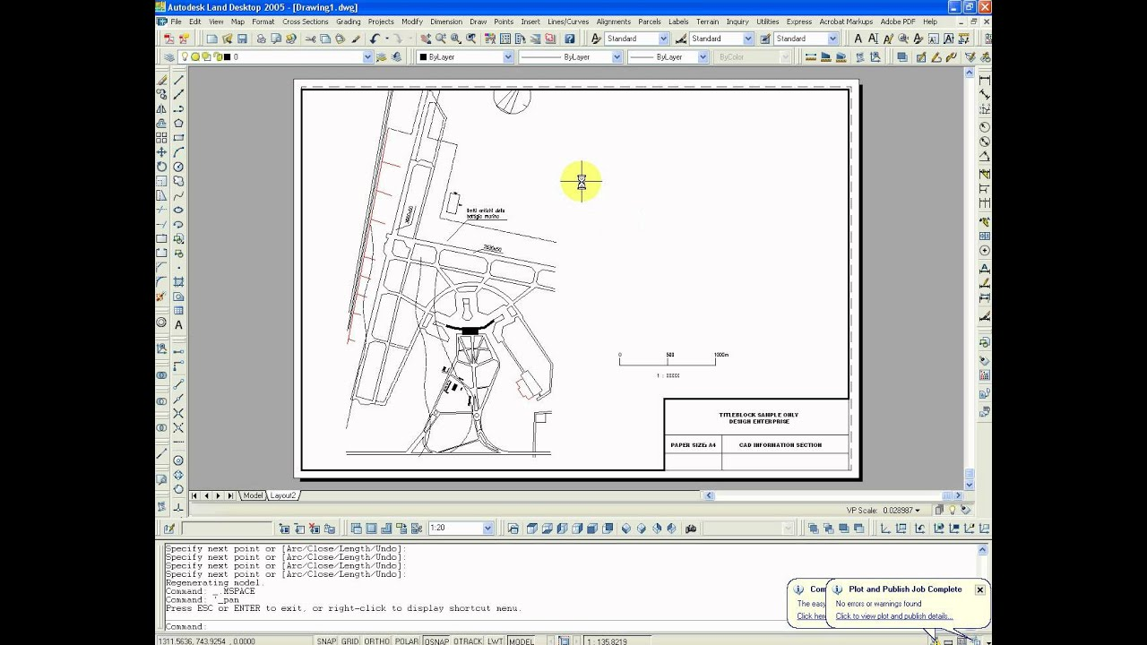 Autocad - Scale in Layout - YouTube