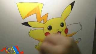 Snappy Drawing 03 Pikachu