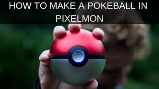 How to make a Pokeball in Pixelmon - Pixelmon Craft