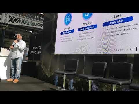 Dayta @ London Blockchain Expo