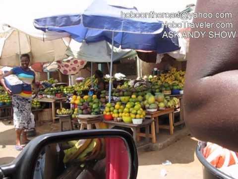 Car then Motorcyle Trip Kara to Kpalime Togo Stop at Sawmill