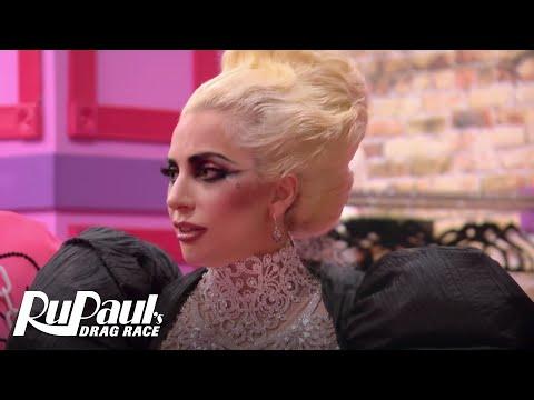 Lady Gaga Gives Friendly Advice | RuPaul's Drag Race Season 9 | #DragRaceGoesGAGA | Now on VH1!