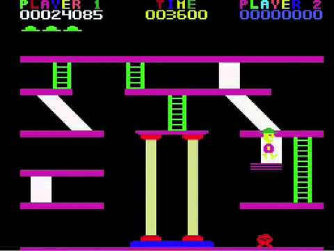 Miner 2049er for ColecoVision Levels 1 through 11
