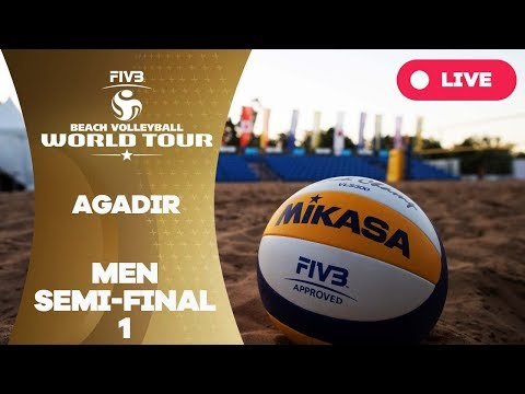 Agadir 1-Star 2017 - Men semi final 1 - Beach Volleyball World Tour