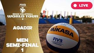 Agadir 1-Star 2017 - Men semi final 1 - Beach Volleyball World Tour thumbnail