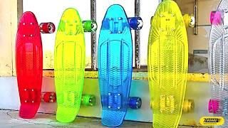 пенни скейт, лонгборд, круизер: что выбрать?  Подробный видео обзор и FAQ