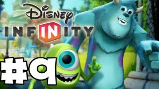 Game | Disney Infinity Gameplay Walkthrough Monsters U Playset Part 9 Monsters U Vault Opening HD | Disney Infinity Gameplay Walkthrough Monsters U Playset Part 9 Monsters U Vault Opening HD