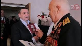 95-летний юбилей отметил ветеран Великой Отечественной войны Владимир Кузьмин