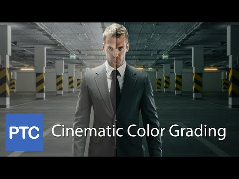 Cinematic Color Grading Movie Looke Effect  Photoshop Tutorial