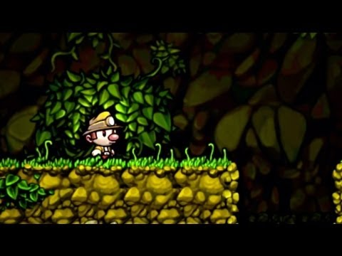 Spelunky - PS3 and Vita Launch Trailer