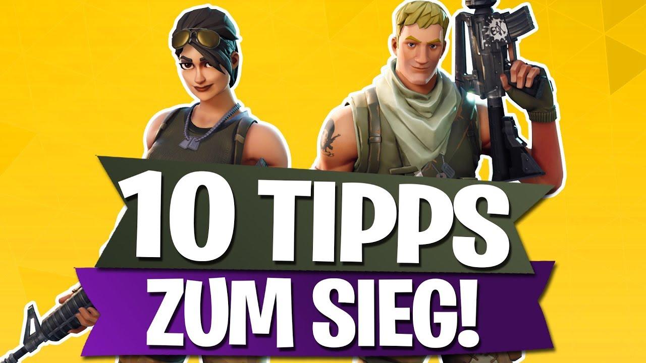 Top 10 Tipps Zum Sieg Fortnite Battle Royale Deutsch