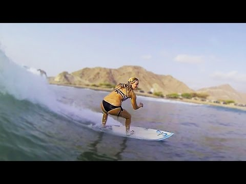 Tim's Reef | SURFING in Fujairah | Abdel Elecho Films
