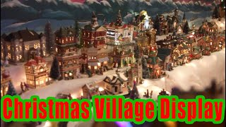 Amazing Christmas Village Setup (Time-lapse)