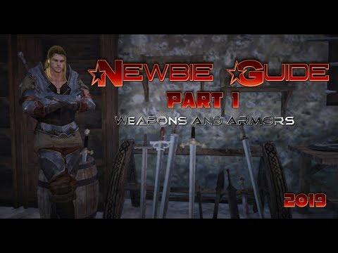 Newbie Guide - Black Desert Online PART 1 [Weapons & Armors]