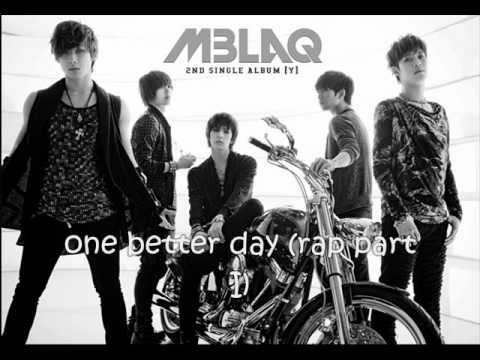 [ringtone + download] MBLAQ - Y (2nd Single Album)