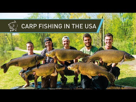 Carp Fishing in the USA with Carl and Alex