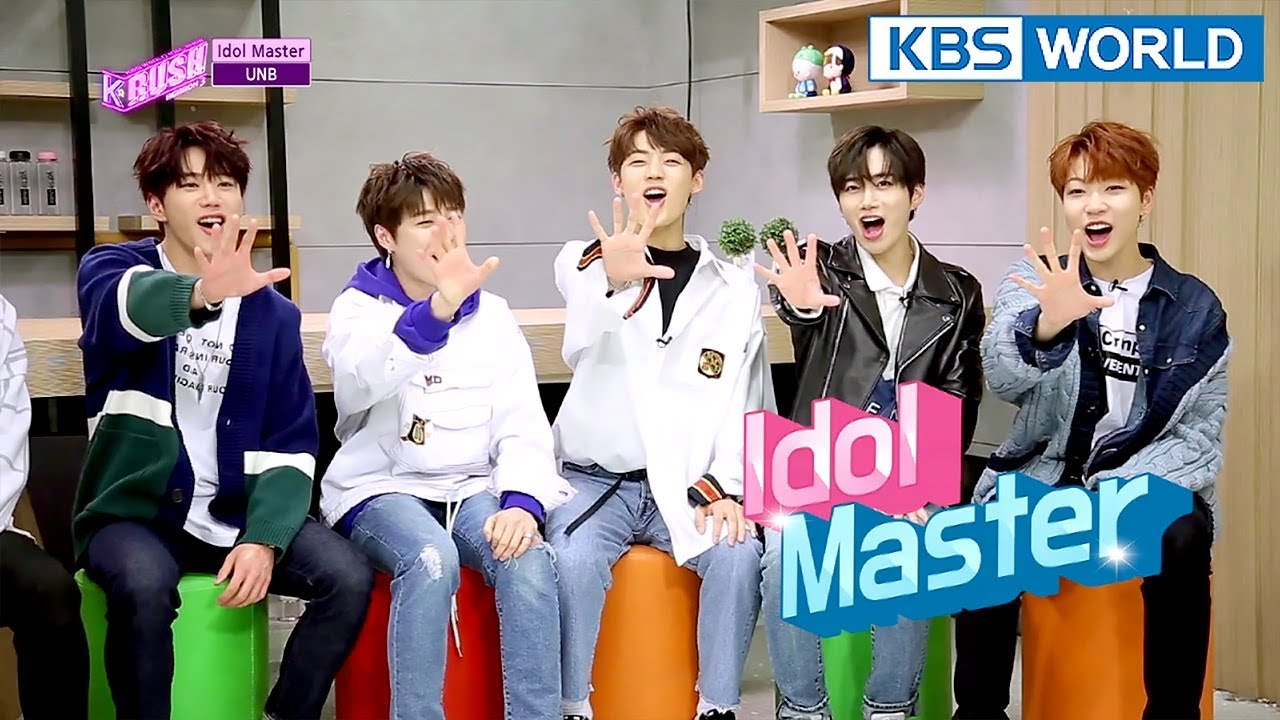 Today's GUEST : UNB [KBS World Idol Show K-RUSH3 / ENG,CHN / 2018 04 13]