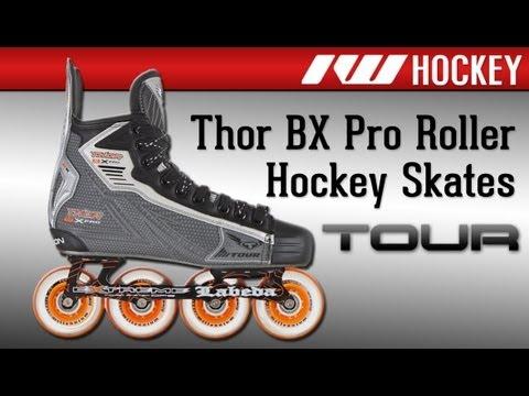 ec0895835bf Tour Thor BX Pro Roller Hockey Skates - YouTube