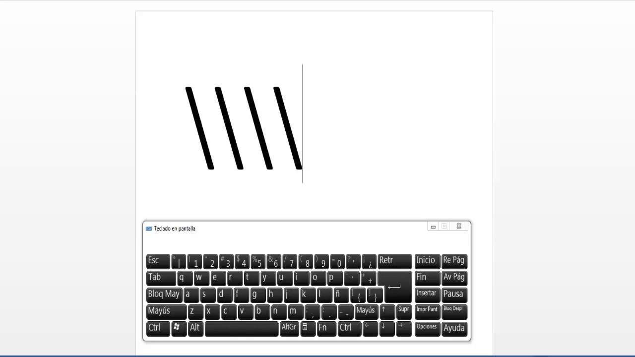Símbolos de texto para Linux: Atajos de teclas compuestas