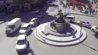 Van ve Muştaki feci kazalar anbean kameralara yansıdı