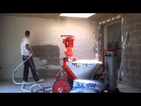 Нужна ли механизированная штукатурка стен: плюсы и минусы способа