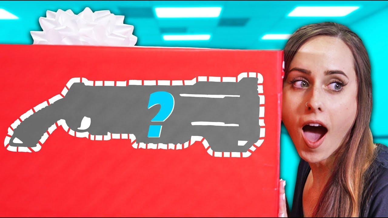Nerf Mystery Box Challenge Ep 2 Youtube
