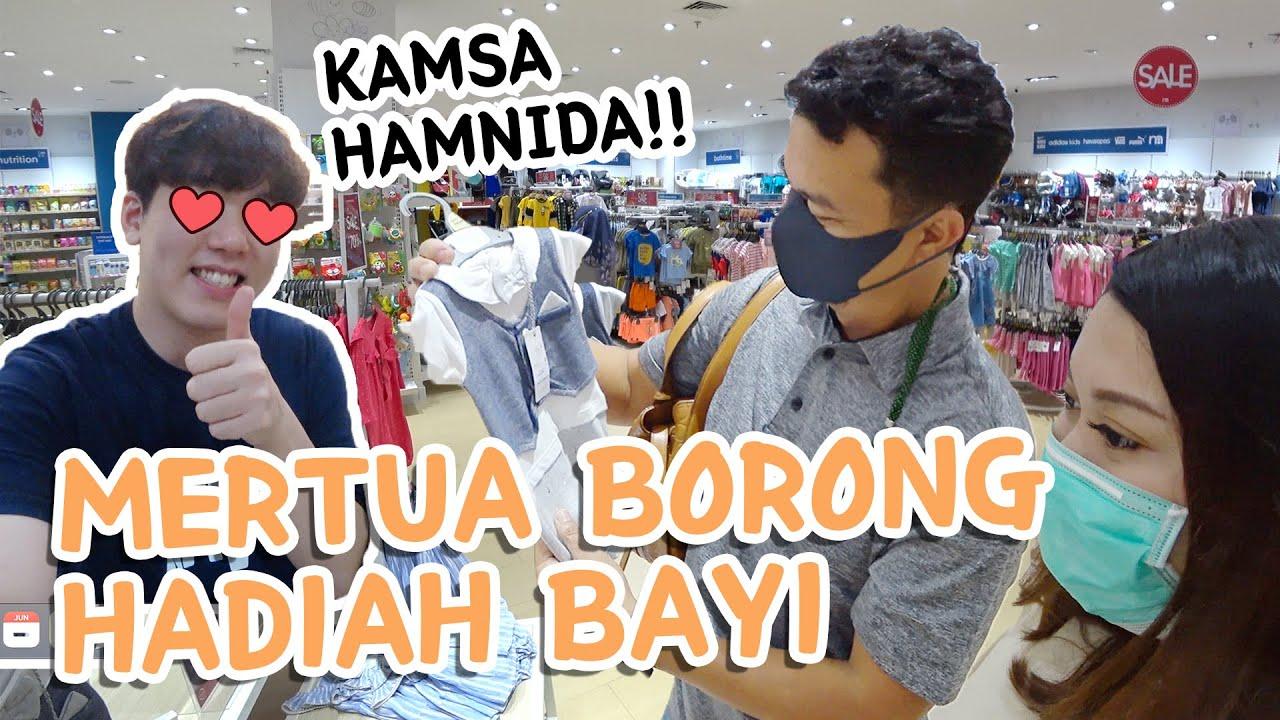 Mertua Indonesia Belanja Untuk CUCU PERTAMA !!😍