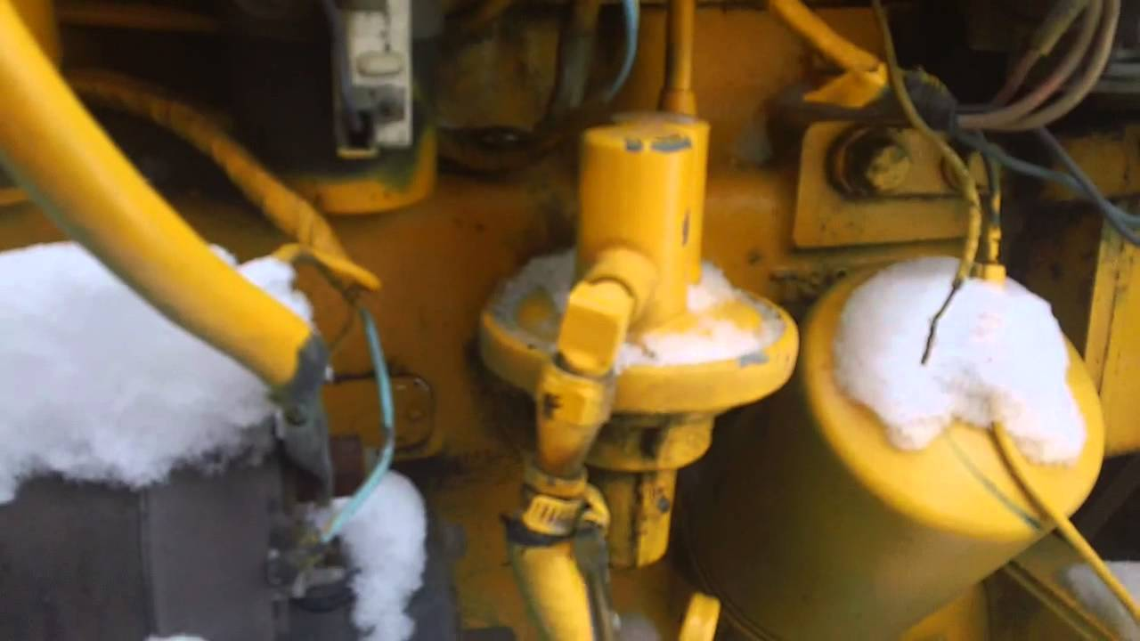 John Deer 300 Tractor Fuel Pump Issue Aborted Mission