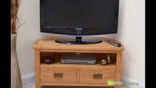Sartra Beaufort Range - Corner Tv Unit With Storage