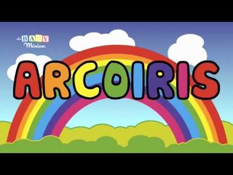 Aprende los colores del arcoiris con este video!!! - YouTube