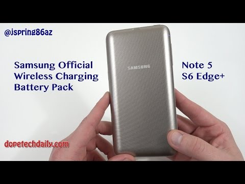 Samsung Official Wireless Charging Battery Pack for Galaxy Note5/S6 Edge+