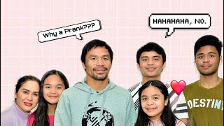 PRANKING MY FAMILY FOR 24 HOURS!!!!! | Mary Pacquiao
