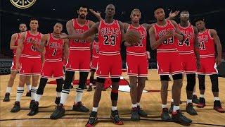 NBA 2K18 All Time Bulls Team Released!