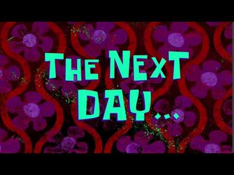 The Next Day... | SpongeBob Time Card #123
