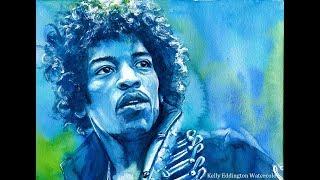 Jimi Hendrix Speed Painting