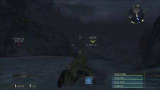 Socom Combined Assault Mission 6 - Highwire - HD Gameplay - PCSX2