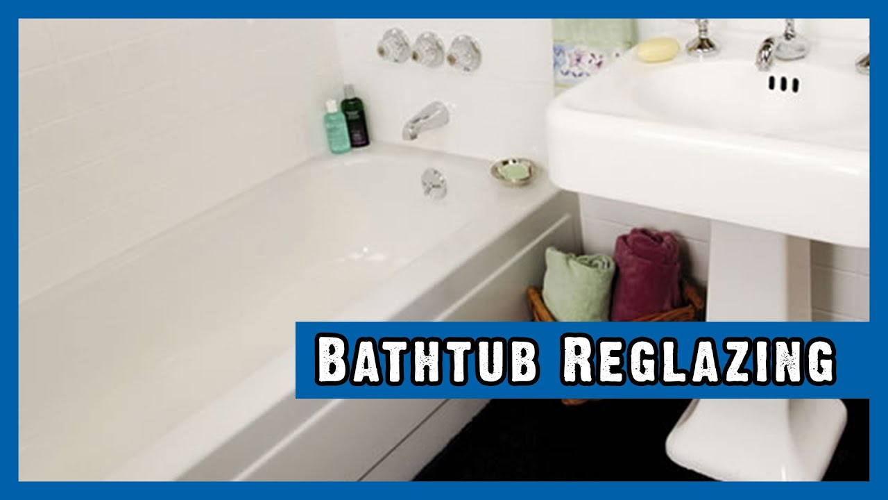 Bathtub Reglazing Manchester NH - Miracle Method - YouTube
