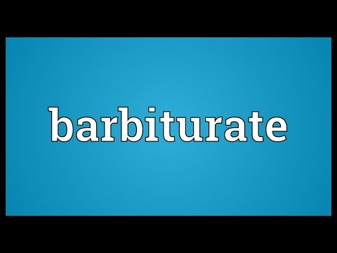 What Are Barbiturates Buzzpls Com